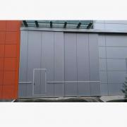 工业pu推拉门 聚氨酯铝型材推拉门