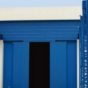 工业厂房大门 折叠门
