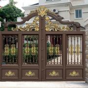 铝艺庭院大门 小区住宅门 欧式别墅花园门