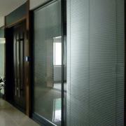 定做写字楼玻璃隔断墙铝合金隔断墙办公室钢化隔断双玻带百叶隔断