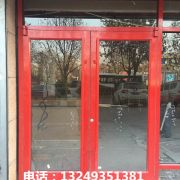 商铺门、宏远肯德基门 石家庄肯德基门