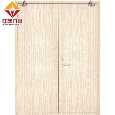厂家生产供应 木质免漆防火门 丙级木质防火门 过道入户烤漆门