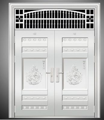厂家直销304不绣钢豪华非标大门.提供安装服务