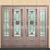精品展示进户纯铜门 不锈钢纯铜门 优质纯铜门