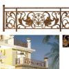 铝艺庭院护栏 铝艺护栏型材批发厂家