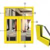 供应安义永高铝材门窗 铝型材