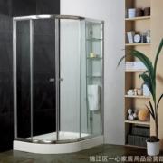 特价【淋浴房】优质铝材钢化玻璃【丝印】【烤漆玻璃】