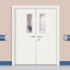 浙江·盼安钢套门双包边厂家 专业生产医院门医用门医疗门可配双包线