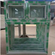 厂家供应塑钢上悬推拉窗 内开内倒塑钢门窗 UPVC门窗中空玻璃