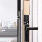 新款指纹锁家用指纹密码锁防盗门电子感应智能安全门锁 刷卡锁