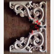 东阳木雕仿古门窗牛腿木质工艺品花格挂件寺庙古建定做批发