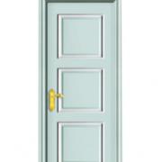 世和实木简约复合门卧室房间浅色门厂家实木复合门多颜色规格定做