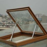 测量安装供应 上悬手动电动一体化开窗机 链条电动开窗机