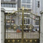 美观实用大方欧式不生锈铁艺大门自动