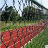 河南PVC包塑勾花网 拧花网 体育运动场 篮球场围栏 热镀锌勾花网