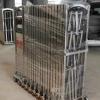 不锈钢电动伸缩门工厂学校自动伸缩门遥控门无轨自动收缩门电动门