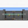 方圆悬浮门电动伸缩门别墅庭院门平移门自动学校工厂小区定制大门
