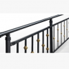 高档楼梯扶手走廊护栏走道栏杆安全防护围栏 铁艺锌钢扶手 长沙