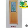 佛山厂家直销PVC卫生间门塑胶门 出口外贸平开门可定制尺寸600g