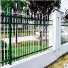 蓝白围墙栅栏 免焊组装式栅栏 镀锌护栏定做