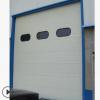 供应新乡电动垂直提升工业门 转折分节提升工业门 铝合金卷帘门