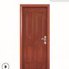 厂家直销橡胶木原木门 别墅室内装修用门 实木卧室油漆门订做
