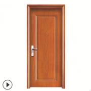 欧式工程公寓铝条防盗强化木门 卧室门卫生间木门烤漆装饰线条门