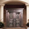 居旺阁铜门 中式古典纳财纯铜门 别墅铜门对开 厂家直销上门安装