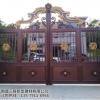 铝艺大门庭院门别墅门厂家直销量大价优品质保障铝合金铝合金门