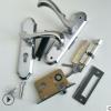T108-28卧室不锈钢门锁小50轴承简约室内卧室木门锁静音五金锁具