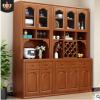 新中式实木餐边柜现代简约酒柜多功能储物柜餐厅客厅通用实木衣柜