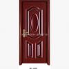JKL-088供应批发室内套装门仿实木深拉伸06板钢木门烤漆家居门