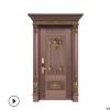 不锈钢镀铜门豪华入户门钢铜防盗门厂家直销批发不锈钢单开门