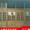 专业生产木门仿古门 雕花木门 中式古典门窗 实木花格挂落实木门