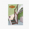 浏阳扶手厂家直供实木楼梯配件 楼梯立柱踏步 高档实木楼梯