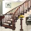 实木楼梯扶手踏步供应踏板别墅楼梯护栏杆 小立柱订制定做