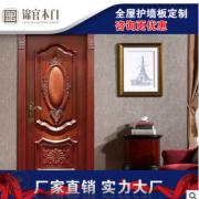 新款欧式实木复合烤漆门卧室隔音 平开整套门酒店工程定制