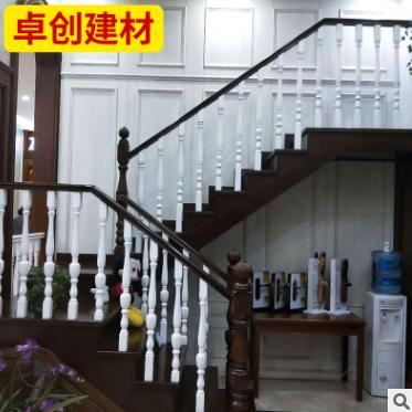 厂家批发实木楼梯 承接木楼梯定制 家装复式楼梯别墅楼梯扶手