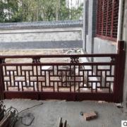 防腐实木户外栅栏围栏 碳化复古花园院子围墙屏风隔断装饰