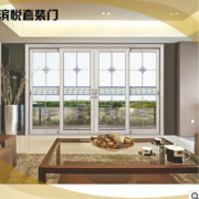 钛合金门 高品质玻璃厨卫门 精美钛合金双开厨卫门 室内整套门