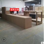 展柜展示柜专业定做木质高柜中岛柜商品陈列柜展销会搭建定制柜子