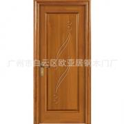 厂家直销实木复合烤漆门实心门扇贴天然木皮高端卧室门酒店门