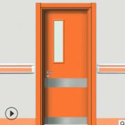 厂家供应 定制医院工程专用门 医院病房专用门 免漆医院专用门