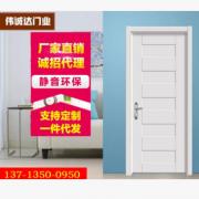 韩式生态门 实木复合门 免漆门套装 室内环保门 现代办公室免漆门