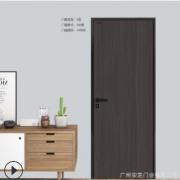 多颜色铝木生态门 时尚大方简约美学门 家居办公商业门加工定制