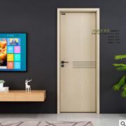 复合铝木结构门 家居酒店办公时尚室内门 生态铝芯结构平开木门