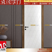 广东威派 实木门定制房间门欧美标准环保免漆实木复合免漆门套装