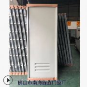 定制电解镀锌复合门 通风百叶钢质门 卫生间铁门 学校工程门批发
