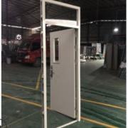 佛山学校门厂家定制 钢质带视窗教室门 医院工程烤漆铁门