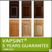 门板厂家批量生产加工 吸塑pvc仿实木橱柜门板定做